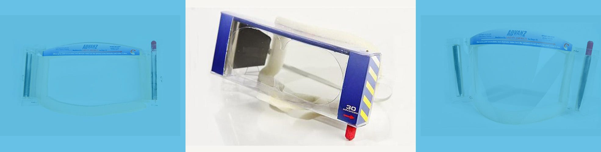 Disposable Goggles & tearoffs