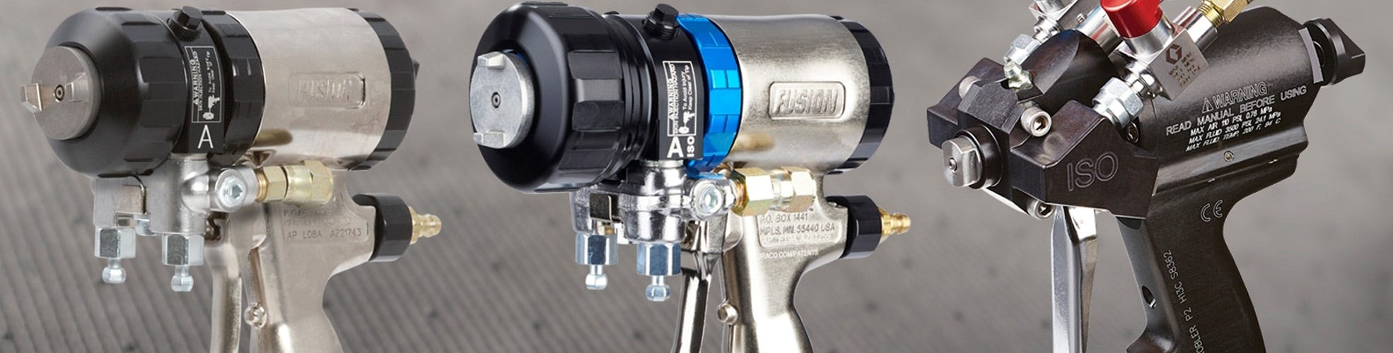 Graco Fusion Pro Connect Spray Gun