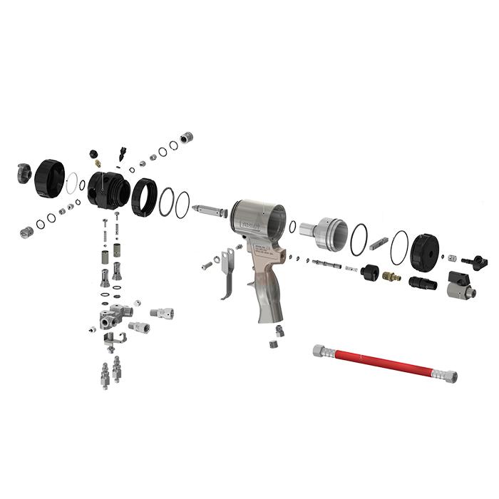 Proportioner Parts