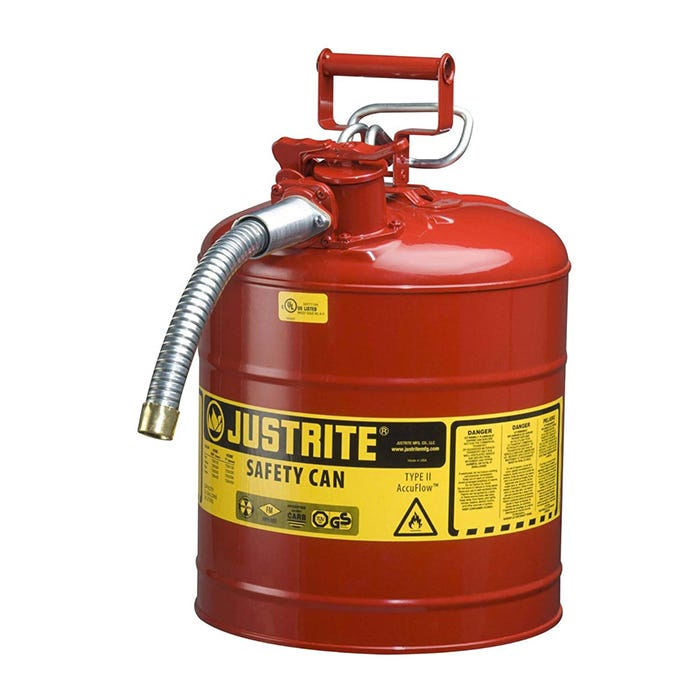 Safety Cans for Solvent & Gas