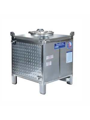 HEATED TOTE, 230 GAL, SST, 1-DIMPLE JACK