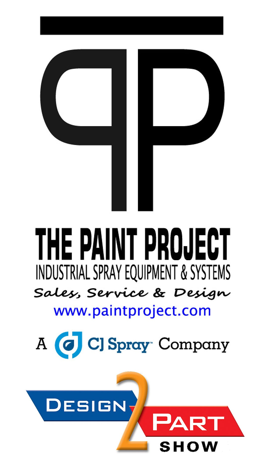 The Paint Project - Design 2 Part Trade Show