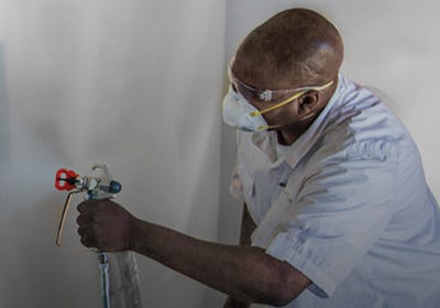 PPE Personal Protective Equipment Paint Spraying Stains